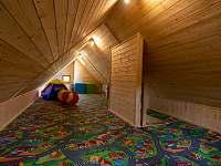 Dětská herna se spaním v podkroví - Albrechtice u Rýmařova
