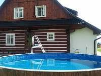 bazén AZURO - chalupa k pronajmutí Velké Losiny