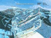 Skiareál Dolní Morava autem 55 min - Velké Losiny