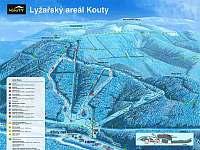 Skiareál Kouty nad Desnou autem 12 min - Velké Losiny