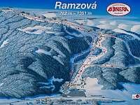 Skiareál Ramzová autem 30 min - Velké Losiny