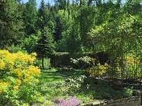 Jarní zahrada s posezením