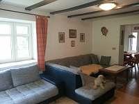 Apartmán 1 - rokládací pohovka pro 2 osoby - pronájem chalupy Chrastice