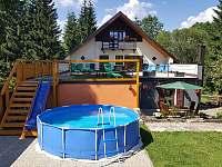 Bazén - chalupa ubytování Chrastice
