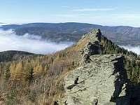 pohled z Obřích kamenů
