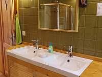 koupelna - chalupa k pronájmu Černá Voda