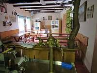 výčepní zařízení - pronájem chalupy Janov