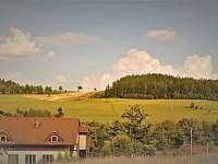 Výhled z roubenky - pronájem apartmánu Dolní Moravice