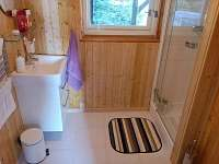 koupelna - chata k pronájmu Hynčice pod Sušinou