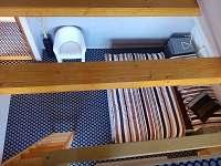 ložnice 1 - chata ubytování Hynčice pod Sušinou