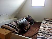 ložnice 1 - galerie - chata k pronájmu Hynčice pod Sušinou