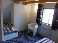 ložnice 2 - chata k pronajmutí Hynčice pod Sušinou