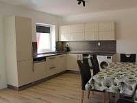 kuchyn - pronájem apartmánu Horni Lipova