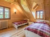 Pokoj s 2 lůžky v 1. patře se sdílenou koupelnou