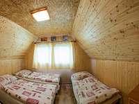 2.ložnice v patře - 4 lůžka - Zlaté Hory