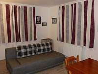 Apartmán A - obývací část