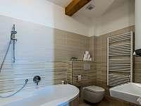 Koupelna - apartmán k pronájmu Václavov u Bruntálu