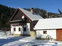 Chalupa v zimě - Jindřichov