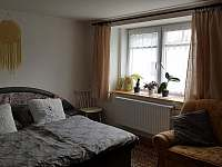 Ložnice - chalupa ubytování Leskovec nad Moravicí