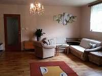 Apartmán Zlatá stezka - obývací pokoj