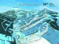 Hlavní skiareál v DM