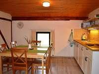 Jídelna s kuchyňkou - apartmán ubytování Králíky - Horní Lipka