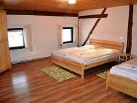 Větší ložnice - 4osoby - pronájem apartmánu Králíky - Horní Lipka