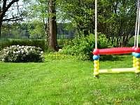 Výhled do zahrady - Králíky - Horní Lipka