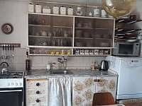 Kuchyně - chalupa ubytování Krnov