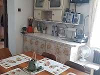 Kuchyně - pronájem chalupy Krnov