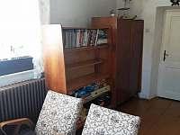 Společenská místnost - chalupa ubytování Krnov