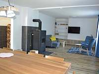 interiér - chata k pronájmu Vidly