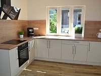 Kuchyně - chata k pronajmutí Vidly