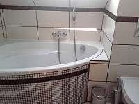 Apartmán - koupelna - Rudná pod Pradědem