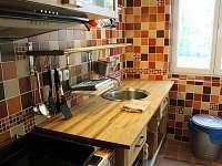 kuchyň - rekreační dům k pronájmu Vrbno pod Pradědem