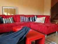 obývací pokoj - rekreační dům k pronájmu Vrbno pod Pradědem