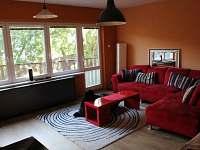 obývací pokoj - rekreační dům ubytování Vrbno pod Pradědem