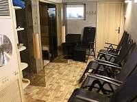 sauna s druhým sprchovým koutem - Vrbno pod Pradědem