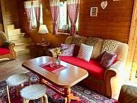 Obývací pokoj - Ludvíkov pod Pradědem