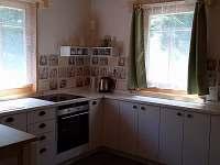 kuchyně - chata ubytování Sobotín - Klepáčov