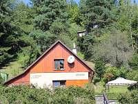 Chata Dolní Bušínov - pohled z pláže