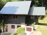 Boční pohled - chata ubytování Dolní Bušínov