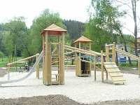 Dětské hřiště - chata k pronájmu Dolní Bušínov