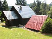 Zadní pohled - chata k pronájmu Dolní Bušínov