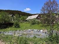 Jezírko - pronájem chalupy Vrbno pod Pradědem - Železná
