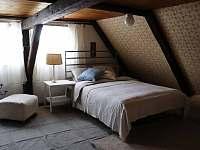 Ložnice v horním patře - chalupa k pronajmutí Vrbno pod Pradědem - Železná