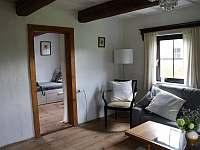 obývací pokoj - chalupa ubytování Vrbno pod Pradědem - Železná