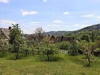 Výhled na zahradu - Vrbno pod Pradědem - Železná