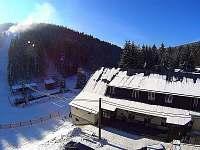 Chata Zátiší v zimě
