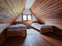 Podkroví - chata ubytování Karlov pod Pradědem